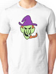 Naughty Halloween Witch Unisex T-Shirt