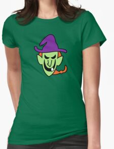 Naughty Halloween Witch T-Shirt