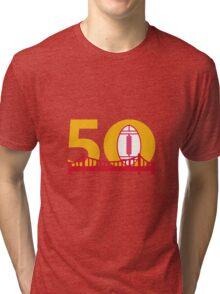 Pro Football Championship 50 Bridge Tri-blend T-Shirt