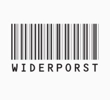 Widerporst Barcode (black) by Bela-Manson