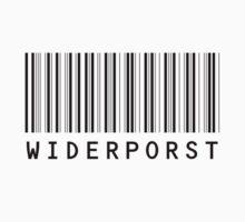 Widerporst Barcode (black) Kids Clothes