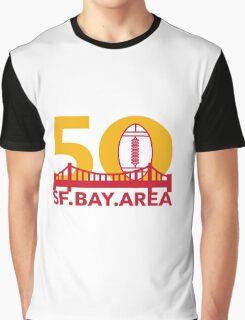 Pro Football Championship 50 SF Bay Area Graphic T-Shirt