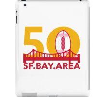 Pro Football Championship 50 SF Bay Area iPad Case/Skin