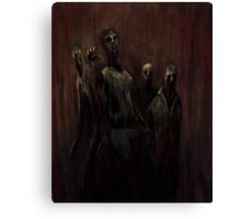 Zombies! Canvas Print