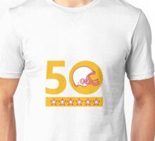 50 Pro Football Championship Sunday Helmet Unisex T-Shirt