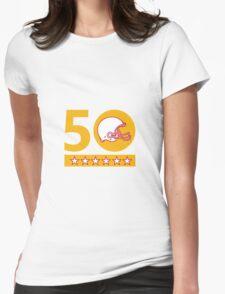 50 Pro Football Championship Sunday Helmet Womens Fitted T-Shirt