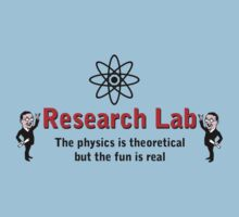 The Big Bang Theory - Research Lab by metacortex
