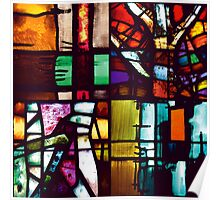 Coventry Stained Glass Poster