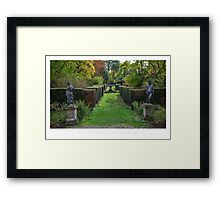 Spetchley Gardens, Worcestershire Framed Print