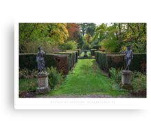 Spetchley Gardens, Worcestershire Canvas Print