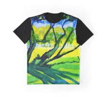 Old Trees, Derbyshire Graphic T-Shirt