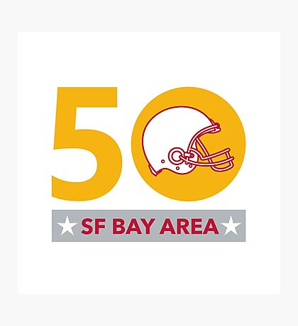 50 Pro Football Championship SF Bay Area Photographic Print