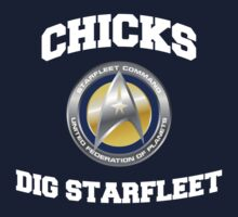 Star Trek - Chicks Dig Starfleet by metacortex