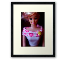Portrait of a Doll Framed Print