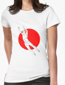zap  Womens Fitted T-Shirt