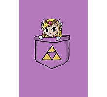 Legend Of Zelda - Pocket Zelda Photographic Print