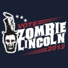 Election Vote Zombie Lincoln 2012 by metacortex