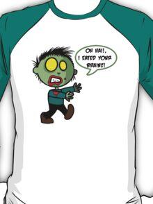 Cute Zombie Brain Eater T-Shirt