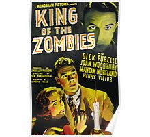 King of Zombies - Classic B-Movie Poster