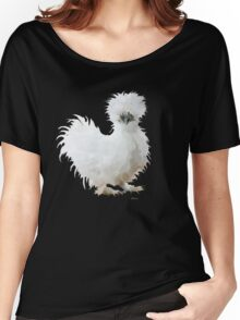 Silly Silkie Chicken Women's Relaxed Fit T-Shirt