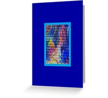 JWFrench Collection Marbled Card 90 Greeting Card