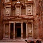 Treasury at Petra by Citisurfer