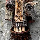 Bridle Mask ( red beard ) by Stephen McLaren