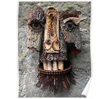 Bridle Mask ( red beard ) Poster