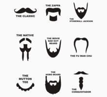 Movember Facial Hair Guide by milkydj