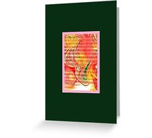 JWFrench Collection Marbled Card 97 Greeting Card
