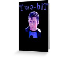 "The Outsiders Keith ""Two-Bit"" Mathews Greaser Greeting Card"