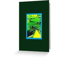 JWFrench Collection Marbled Card 100 Greeting Card
