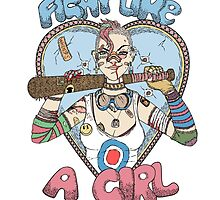 Fight Like A Girl - Fight Like A Tank Girl (Tank Girl) by Seignemartin