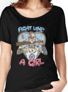 Fight Like A Girl - Fight Like A Tank Girl (Tank Girl) Women's Relaxed Fit T-Shirt