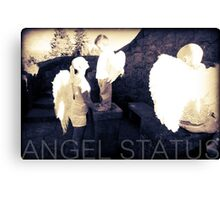 Angel Status® Angel Art Collection benefiting the Children's Cancer Association. (Limited Edition) Canvas Print