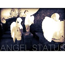 Angel Status® Angel Art Collection benefiting the Children's Cancer Association. (Limited Edition) Photographic Print