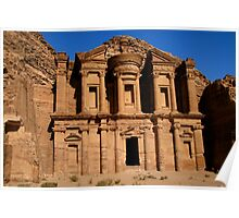 The Monastery, Petra Poster