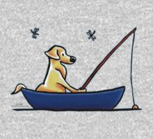Lab Gone Fishing Kids Clothes