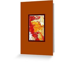 JWFrench Collection Marbled Card 109 Greeting Card