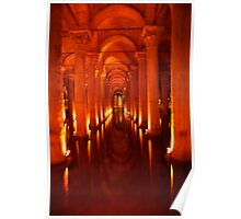 Roman Cisterns of Istanbul Poster