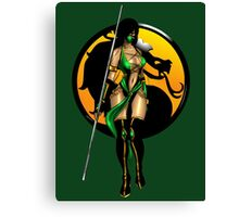 Mortal Kombat - Jade Canvas Print