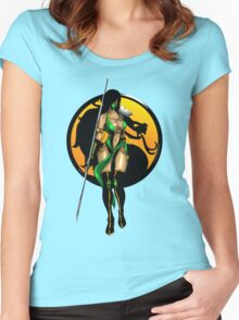 Mortal Kombat - Jade Women's Fitted Scoop T-Shirt