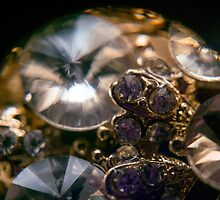 Diamonds and Gold SuperMacro 8 by AnnArtshock