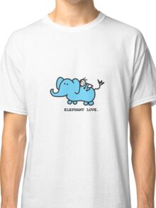 Elephant Love . Who Loves Elephants?  Classic T-Shirt