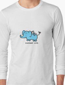 Elephant Love . Who Loves Elephants?  Long Sleeve T-Shirt