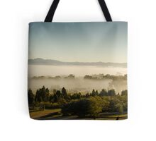 Morning Fog at Mudgee Homestead Guesthouse - Mudgee Tote Bag