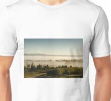 Morning Fog at Mudgee Homestead Guesthouse - Mudgee Unisex T-Shirt