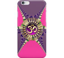 Pink Purple New Age Golden OM iPhone & iPod Case iPhone Case/Skin