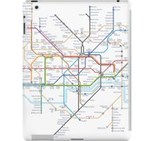 London Underground Tube Map as Anagrams iPad Case/Skin