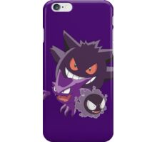 Gastly Evol iPhone Case/Skin